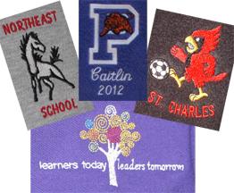 School Spirit Wear Gallery