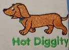 Hot Diggity Human Tee