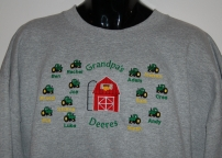 Grandpa's Deeres Sweatshirt