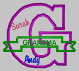G for Grandma Shirts (with names)