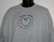 Grandma's Garden Shirts