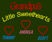 Grandpa's Little Sweethearts Shirts