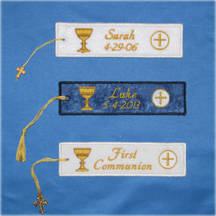 First Communion Bookmark--FREE SHIPPING