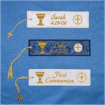 First Communion Bookmark