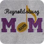 Band Mom Glitter