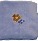 Unisex Bear Baby Blanket